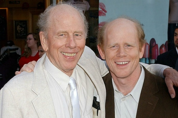 Father Rance Howard son Ron Howard