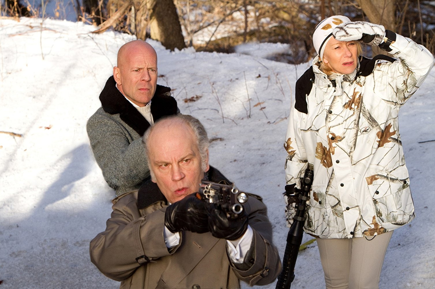 Red Bruce Willis Helen Mirren John Malkovich