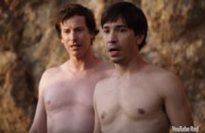 "Rob Huebel and Justin Long on ""Do You Want to See a Dead Body?"""