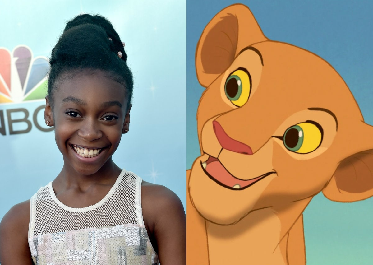 Shahadi Wright Joseph Young Nala The Lion King