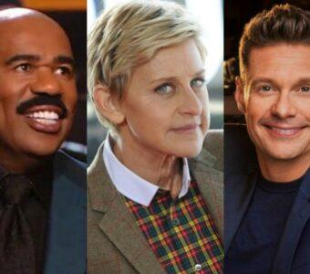Steve Harvey Ellen Degegeres Ryan Seacrest