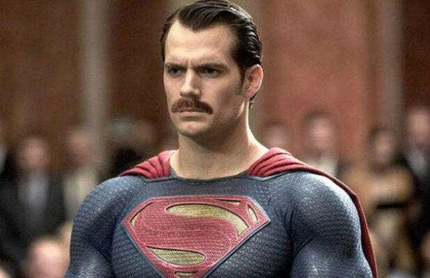Henry Cavill Justice League Mustache