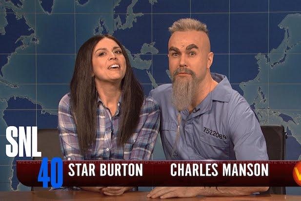 Taran Killam SNL Charles Manson