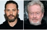 Tom Hardy and Ridley Scott