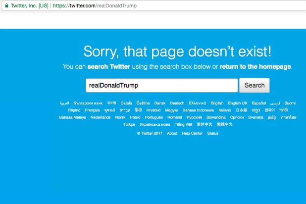 Trump's Twitter Account Was Deactivated by Customer Service Employee on Their Last Day, Twitter Says