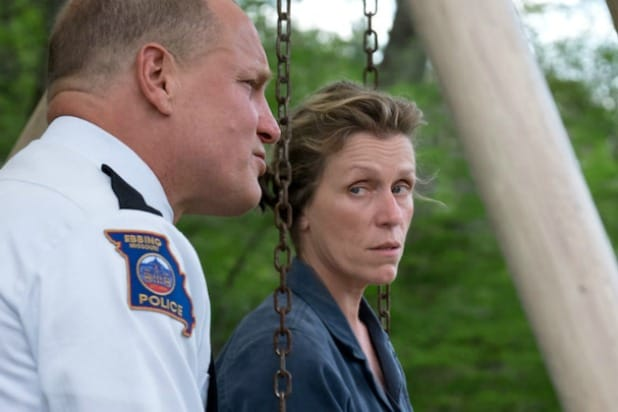 Woody Harrelson Frances McDormand Three Billboards