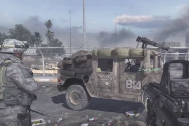 activision call of duty humvee