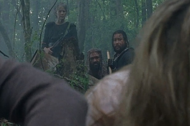 amc the walking dead shiva dead ezekiel carol jerry