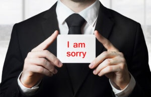 apology sexual misconduct