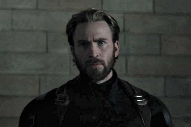 avengers infinity war trailer beard captain america