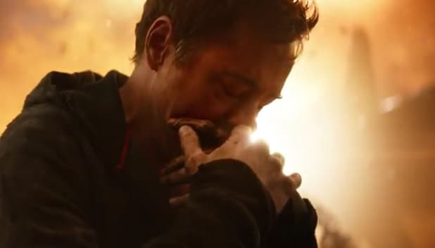 avengers infinity war trailer sad possibly bloody tony stark