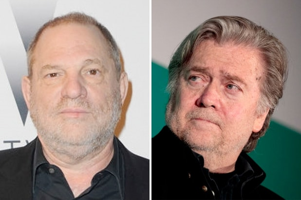 harvey weinstein steve bannon