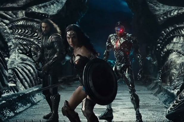 justice league trailer fighting steppenwolf wonder woman cyborg aquaman
