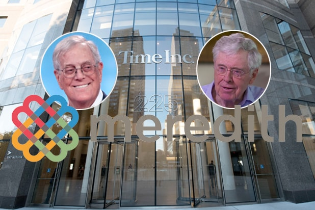 david koch charles koch brothers time inc meredith