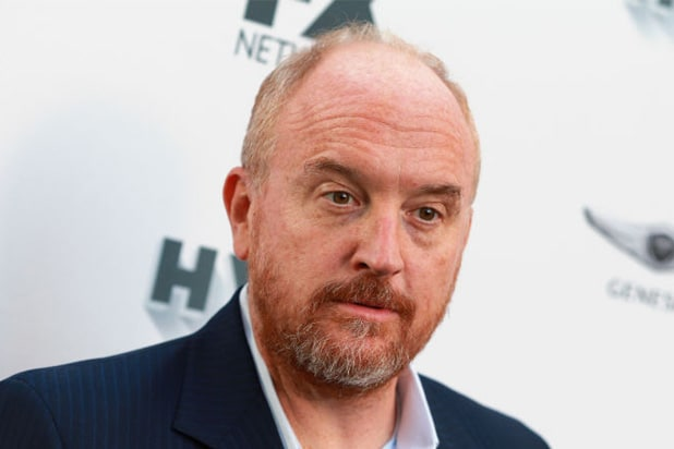 Louis CK Not Laughing About Sexual Accusations