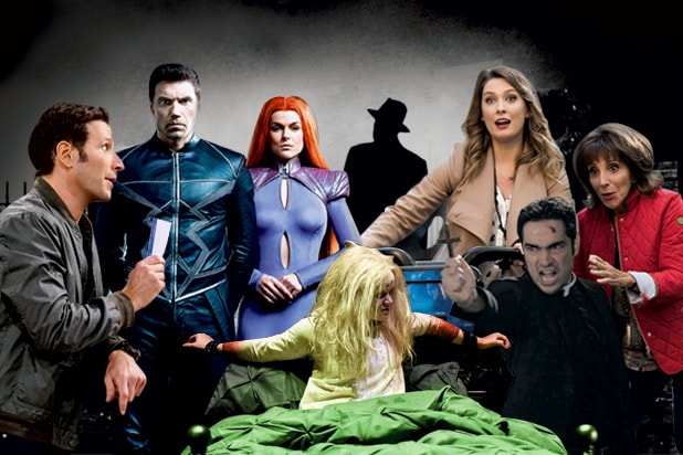 9JKL/ Inhumans/ Exorcist/ Great News