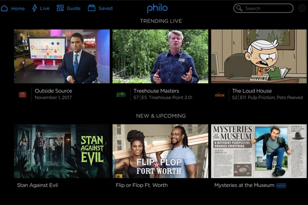 Philo streaming