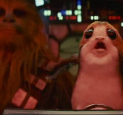 porg chewbacca star wars the last jedi