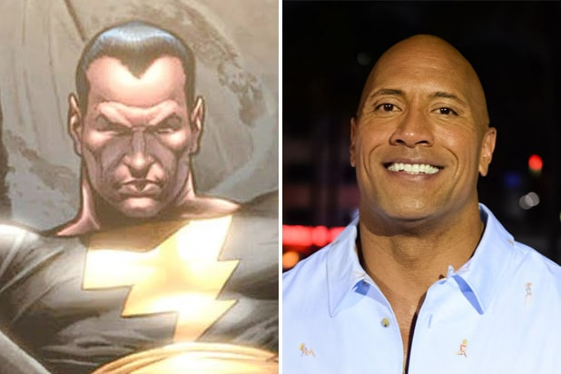 black adam dwayne the rock johnson DC Comics Justice Society of America