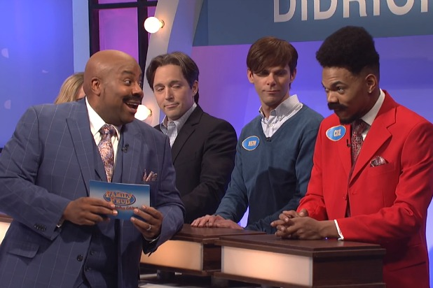 8124015c1f8  SNL   Steve Harvey Brings Both His Families onto  Family Feud  (Video)