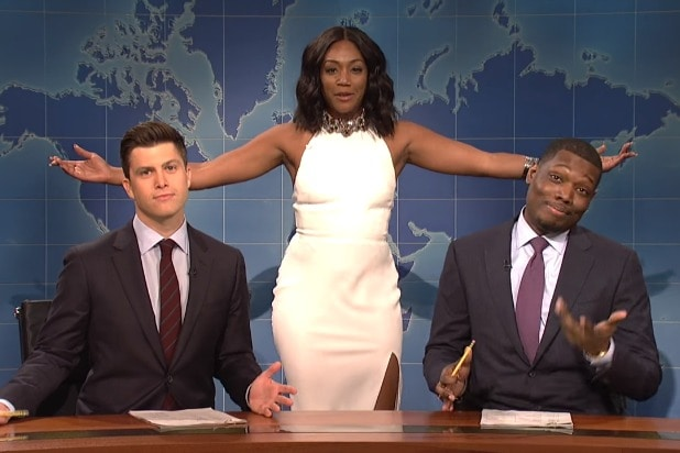 snl saturday night live tiffany haddish weekend update