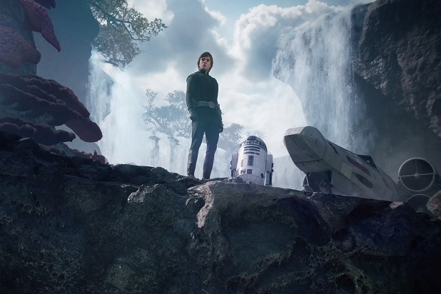 Star Wars: Battlefront II last jedi hints luke skywalker