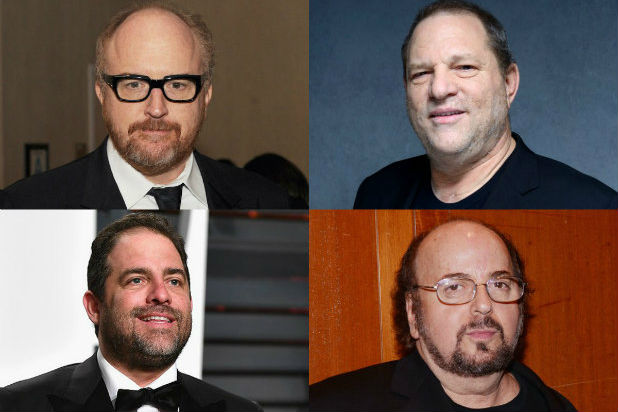 why masturbate in front of women hollywood Harvey Weinstein, Louis CK, James Toback, Brett Ratner