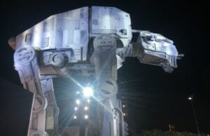 ATAT Star Wars Last Jedi Premiere