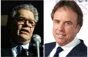 Al Franken and Kevin Nealon