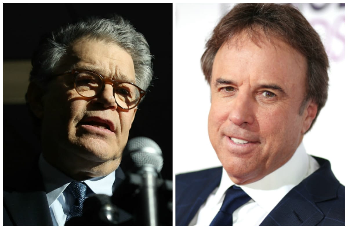 Al Franken and Kevin Nealon