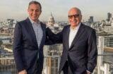 Bob Iger and Rupert Murdoch