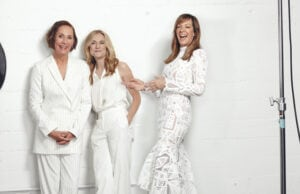 Laurie Metcalf, Holly Hunter and Allison Janney