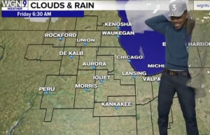 Chance the Rapper gives the weather