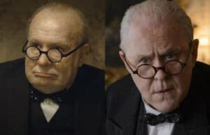 Gary Oldman John Lithgow Winston Churchill