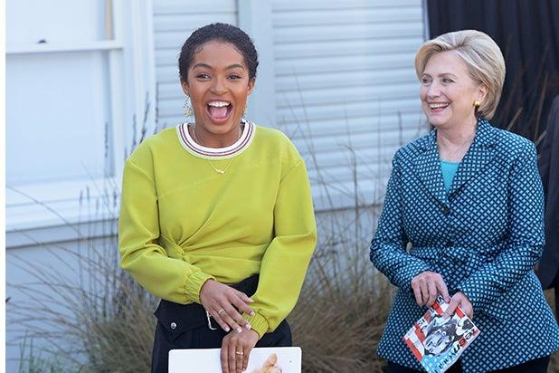 Yara Shahidi, Hillary Clinton