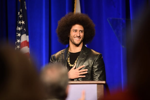 Colin Kaepernick speaks out about resisting oppression in rare public appearance