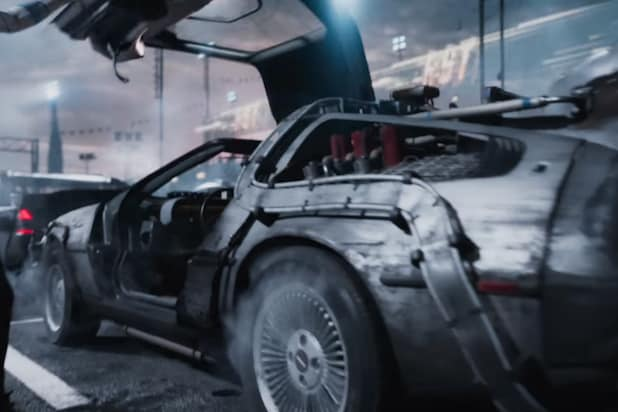 Ready Player One DeLorean Ron Cobb Back to the Future