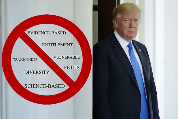 Donald Trump CDC prohibited word ban list