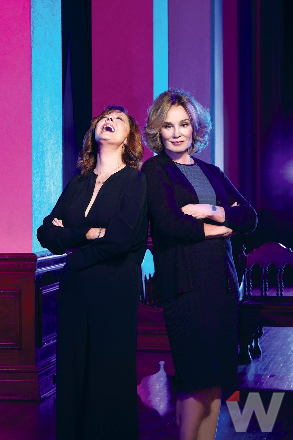 Susan Sarandon and Jessica Lange, Feud