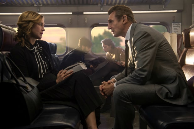 The Commuter' Film Review: Liam Neeson Train Thriller Ultimately