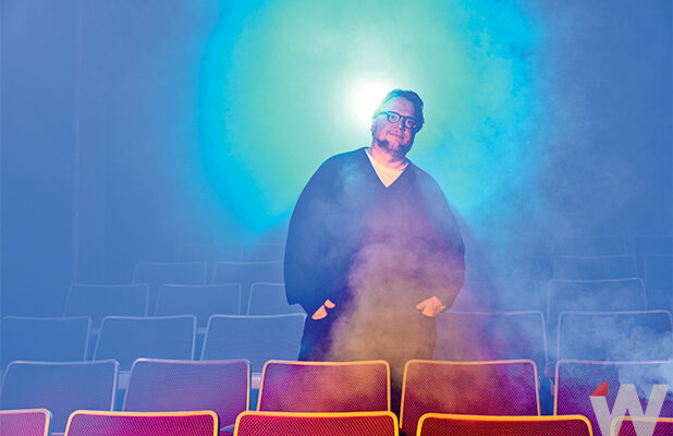 Guillermo del Toro photographed by Irvin Rivera for TheWrap