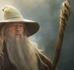 Gandalf Lord Of The Rings Hobbit Ian McKellen