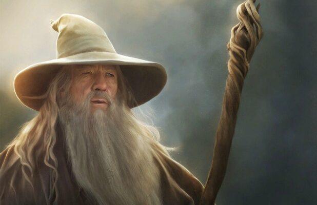 Gandalf Lord Of The Rings Hobbit Ian McKellen