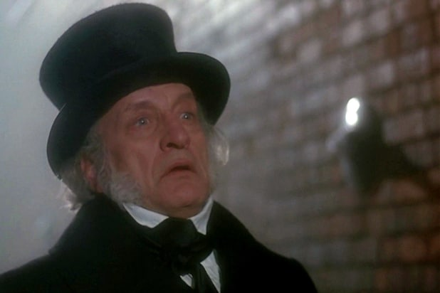 George C Scott A Christmas Carol