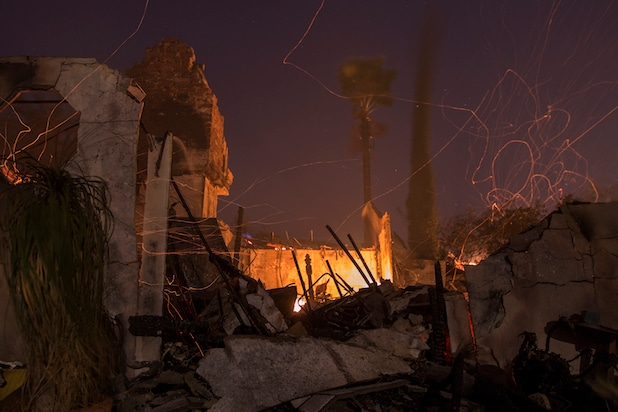 Southern California Wildfires Forces Thousands to Evacuate