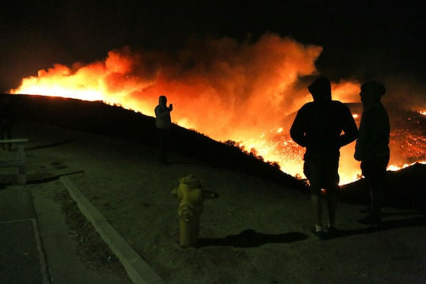 Getty fire los angeles wildfire