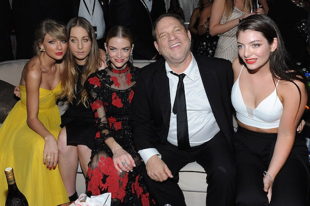 Harvey Weinstein Golden Globes