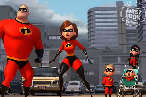 Incredibles 2 EW exclusive