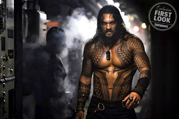 Aquaman' Makes Huge Splash at Comic Con in First Trailer (Video)