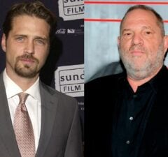 Jason Priestley Harvey Weinstein